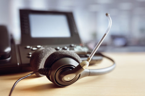 VoIP device - phone and headset
