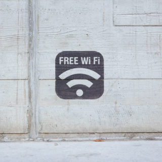 what you could do with business broadband - offering free wifi to customers securely